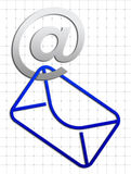 иконы связи Стоковые Фото