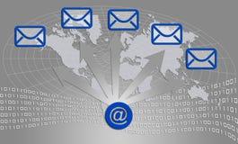 иконы связи Стоковое Фото