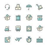 Иконы снабжения Стоковая Фотография RF