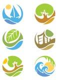 иконы собрания Стоковые Фотографии RF