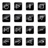 иконы установили veb Стоковые Изображения