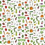 иконы установили овощи стоковое изображение rf