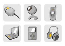 Иконы устройств Стоковые Фотографии RF