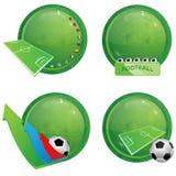 иконы футбола иллюстрация штока