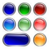 иконы цвета Стоковая Фотография