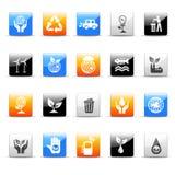иконы экологичности Стоковые Фотографии RF
