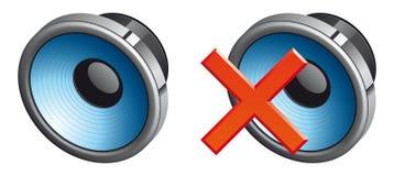 Иконы диктора Стоковое фото RF