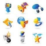 Иконы для отдыха Стоковая Фотография RF