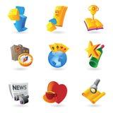 Иконы для отдыха Стоковые Фотографии RF