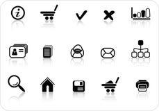 иконы Стоковые Фотографии RF