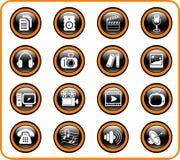 иконы Стоковые Изображения