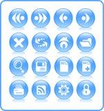 иконы Стоковая Фотография RF