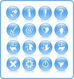 иконы Стоковое Изображение