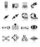 иконы стоковые изображения rf