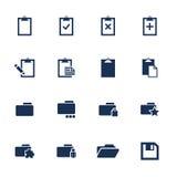 иконы Стоковое Изображение RF