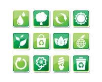 иконы eco Стоковое Фото