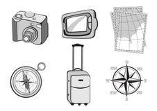 Иконы Turistic Стоковая Фотография
