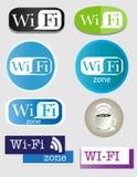 Иконы Wifi Стоковое фото RF