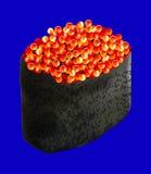 Икра Sushiwith красная, также вектор иллюстрации притяжки corel Стоковое Изображение RF