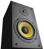 диктор близкого оборудования аудио музыкальный вверх Стоковое Изображение RF