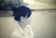 иК девушки Стоковая Фотография RF