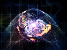 Иллюзионы технологии Стоковая Фотография RF