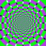 иллюзион оптический Стоковое Фото