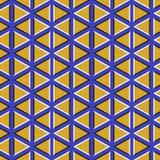 иллюзион предпосылки оптически Плавая обои с треугольниками бесплатная иллюстрация
