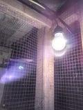 Иллюзия лампы стоковая фотография rf