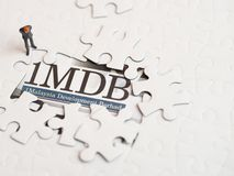 Иллюстративная передовица концепции скандала 1MDB стоковое фото rf