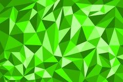 иллюстрации предпосылки зеленого цвета картины полигона концепция шаблона дизайна красивой творческая Стоковая Фотография