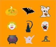 Иллюстрации Halloween Стоковое Фото