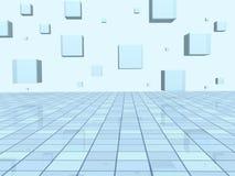 иллюстрация абстрактной предпосылки геометрическая Стоковые Изображения RF