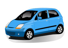иллюстрация автомобиля Стоковое Изображение RF