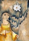 Иллюстрация акварели иллюстрация штока