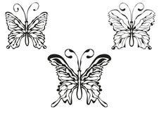 иллюстрация бабочки Стоковая Фотография RF
