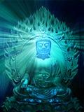 иллюстрация Будды Стоковое Фото
