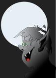 Иллюстрация вампира Стоковые Изображения RF