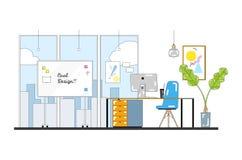 Иллюстрация вектора для веб-дизайна с значками бесплатная иллюстрация