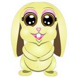 Иллюстрация вектора кролика шаржа иллюстрация штока