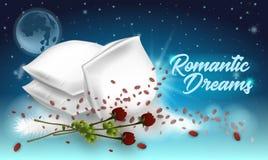 Иллюстрация вектора помечая буквами романтичные мечты бесплатная иллюстрация