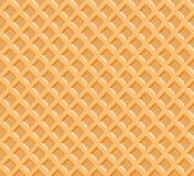 Иллюстрация вектора предпосылки текстуры вафли иллюстрация штока