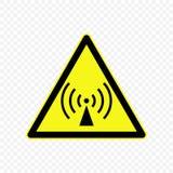 Иллюстрация вектора предупредительного знака иллюстрация вектора
