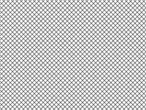 Иллюстрация вектора простых линий раскосных monochrome клеток, квадратов, вида решетки Черно-белая текстура для иллюстрация вектора
