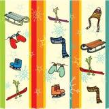 Иллюстрация вектора рождества. Бесплатная Иллюстрация