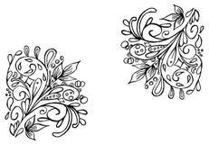 Иллюстрация вектора с диаграммами конспекта орнамента Смогите быть покрашено как вы хотите иллюстрация штока