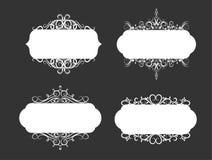 Иллюстрация вектора ярлыка старого стиля Стоковые Изображения RF