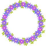Иллюстрация венка цветка Стоковые Фотографии RF