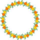 Иллюстрация венка цветка Стоковое Изображение RF