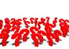 иллюстрация вопросительных знаков 3d Бесплатная Иллюстрация
